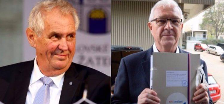 Drahoš v televizní debatě mlžil dvakrát, Zeman sedmkrát