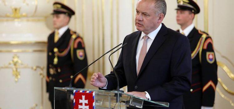 Slovenský prezident Andrej Kiska oznámil, že nebude znovu kandidovat