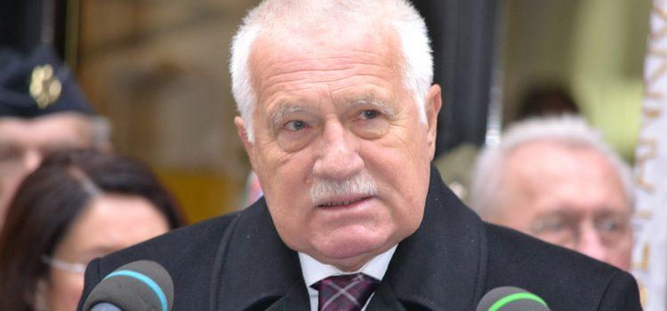 Václav Klaus připustil, že bude znovu kandidovat na prezidenta