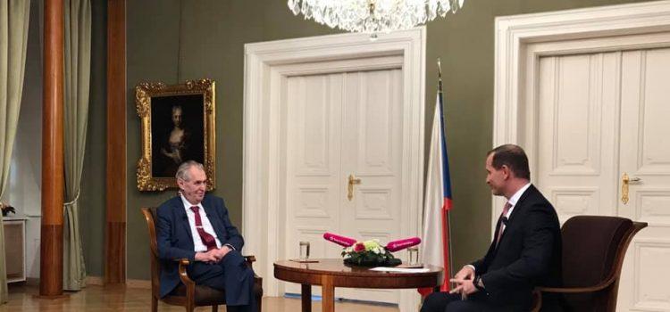 """Návrat Klause? Bylo by to oživení proti současným """"nudařům"""", říká prezident Zeman"""