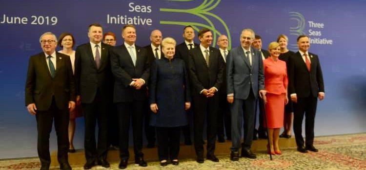 Miloš Zeman v Lublani na summitu Iniciativa tří moří podpořil výstavbu kanálu Dunaj-Odra