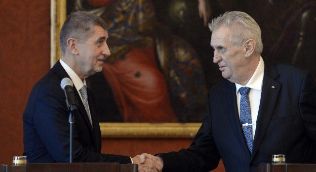 Prezident naznačil, že by mohl zastavit trestní stíhání premiéra Andreje Babiše