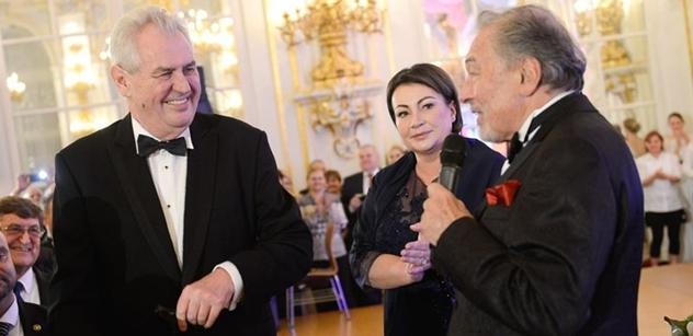 Prezident udělí Karlu Gottovi in memoriam Řád bílého lva, ale až příští rok