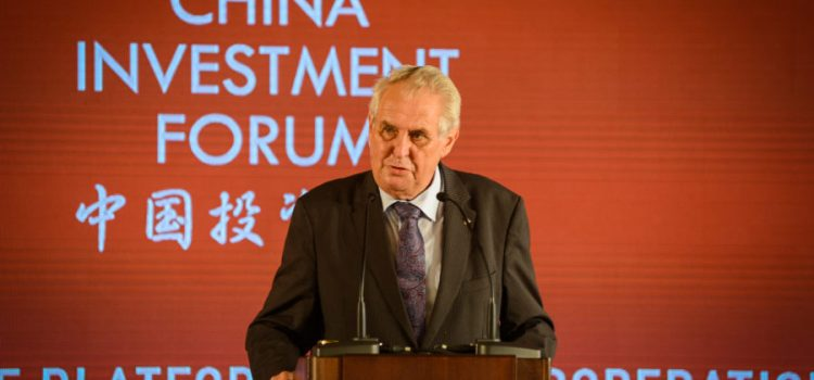Čína kvůli Kuberovi a Hřibovi odložila Česko-čínské obchodní fórum, oznámil Mynář